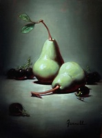 81042c_farrell--pears_and_grapes_16x12