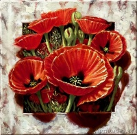81794c_red_poppies_through_marble_10x10